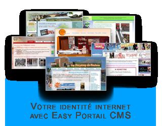 Votre identité WEB - création de site insternet sur mesure avec EP CMS